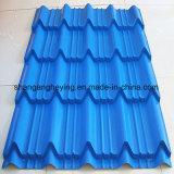 Farbe beschichtete galvanisiertes Stahldach-/Wellen-Fliese-Dach/trapezoides Fliese-Dach