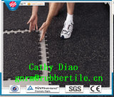 중국 공장 공급 맞물리는 체조 지면, 스포츠 고무 지면, 체조 지면 매트 Anti-Fatigue 마루 매트