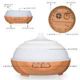 Difusor de aceites esenciales 400ml Aroma Humidificador de aire eléctrico difusor de aroma de la luz de aromaterapia ultrasónico Mist Maker