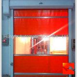 Industrieller elektrischer Plastikhochgeschwindigkeitsrollen-Blendenverschluß schnelle Belüftung-Tür (HF-1088)