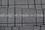 Tela teñida hilado de la tela escocesa T/R, 220GSM, 63%Polyester 34%Rayon 3%Spandex