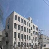 Entrepôt préfabriqué de structure métallique de grande envergure de bâti de l'espace de modèle