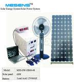 Bewegliches 60W SolarStromnetz, Solar Energy System für Haus (MSS-SW-HS60-40)