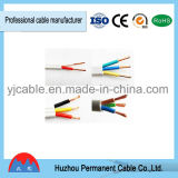 Câble plat non-flexible isolé par PVC de BVVB