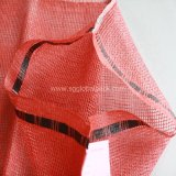PP L Sewing Red Color Leno Bag (52 * 80cm) avec Blue Woven Drawing String