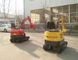 Prijs van het Graafwerktuig van de Fabrikant 800kg van China de Mini voor Verkoop