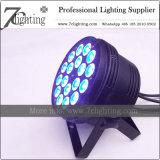 Stadiums-Beleuchtung DES LED-flache NENNWERT Licht-18X10W RGBW LED