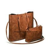 Nova Moda PU Bolsa De Couro Senhoras Set Bag