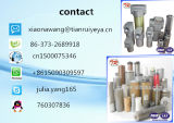 China-Lieferant kerbte Draht-Filter verwendete Lieferung ein