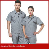 Fornecedor uniforme personalizado do trabalho das mulheres dos homens da boa qualidade (W228)