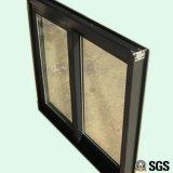 Gute Qualitätspuder-überzogener gerundeter Verschluss-schiebendes Aluminiumfenster K01118