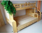 Ladder Ark (M-X1110)를 가진 최신 Selling Solid Wood Bunk Bed