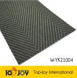 Patrón de sarga tejer con hilos de suelos de vinilo