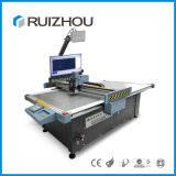 China CNC-Maschinen-Leder-Acrylgummischerblock-Plotter