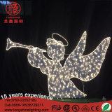 LED-Winkel-Motiv-Dekoration-Licht für im Freienweihnachtsfeiertags-Tag