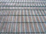 Ral 6005 PVC上塗を施してある金網の塀は溶接網の塀のパネルにパネルをはめる