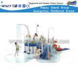 Kinderen Playsets van de Apparatuur van de Dia van het Park van het water de Plastic (M11-04503)
