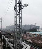 Vechile montado 800m detecção humano infravermelho termal câmara CCTV PTZ