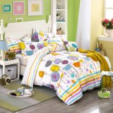 Het katoenen Beddegoed van de Polyester plaatst Goede Kwaliteit voor Huis