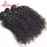 最上質の加工されていないカンボジアの巻き毛のバージンの毛
