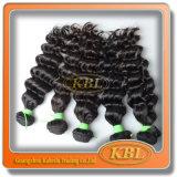 Естественные человеческие волосы бразильянина Color 4A