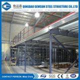 Construção do projeto que constrói a vertente do Workhouse do aço estrutural
