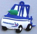 PVC de encargo Keychain de goma del OEM para el regalo de Promoton