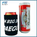Geschenk-Neopren PU-Bier-Dosen-Kühlvorrichtung