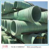 Tubo de agua del tubo de plástico reforzado con fibra de presión del tubo guía GRP Tubo bobinado