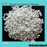 94% het Chloride van het Calcium Vochtvrij voor het Smelten van de Sneeuw, Dessicant (parel, poeder)
