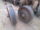 Große Peilung-Schwerkraft-Fußrollen für schwere Maschinerie