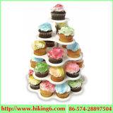 5 de Tribune van Cupcake van de rij, Houder Cupcake