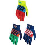 Голубая популярная вездеходная перчатка для участвовать в гонке мотоцикла (MAG74)