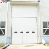 Промышленная автоматическая секционная вертикальная раздвижная дверь