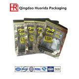 Joli imprimé en plastique sacs Ziplock l'environnement pratique livre produit Emballage en plastique Sacs en tissu