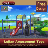 Chine Manufacture Low Cost enfants plastique en plein air Playground Equipment diaporama