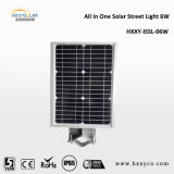 6W Outdoor Lights Solar Integrated Motion Sensor Solar LED Street Light Lampara Solar Garten Light
