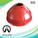Alto manto del frantoio del cono dell'acciaio di manganese