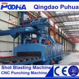 Q69シリーズ鋼鉄プロフィールのショットブラスト機械/ショットピーニング機械