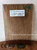 Bronzewasser-Fall/Regen-gekopiertes Glas mit Cer, ISO (3-8mm)