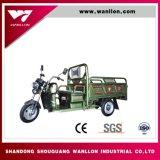 Triciclo del rectángulo del envase de 3 ruedas/triciclo del motor para la granja