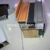 Perfil de aluminio de la decoración