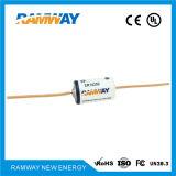 Batterie au lithium de 1 / 2AA 3.6V 1.2h pour ampèremètre (ER14250)