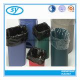 Sac d'ordures en plastique coloré matériel de PE