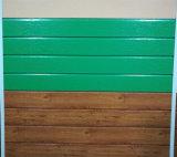 Painéis de sanduíche isolados espuma do plutônio para a parede externa
