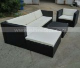 El mimbre Rattan Kd Salón Sección Sofá jardín Muebles de Exterior (MTC-283)
