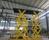 Voiture de type ciseaux 10T hydraulique de levage automatique avec la CE