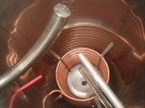 Calefator de água quente solar pré-aquecido Non-Pressurized da câmara de ar de vácuo/calefator de água do coletor solar do geyser da energia solar de Unpressure baixa pressão com tanque assistente