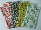 Cotone che cuce il guanto variopinto del lavoro dei guanti dei bambini dei guanti del giardino