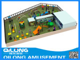 Singoli insiemi livellati del campo da giuoco del giocattolo dei bambini (QL-150413D)